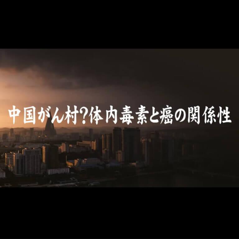 中国がん村?体内毒素と癌の関係性