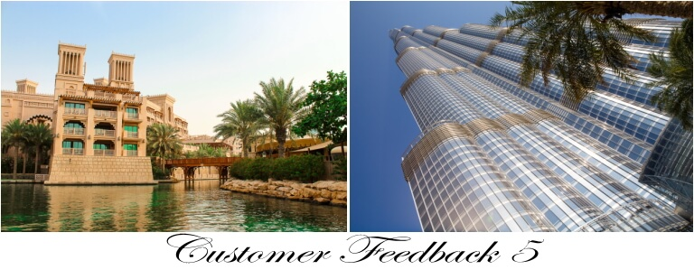 Customer Feedback 5