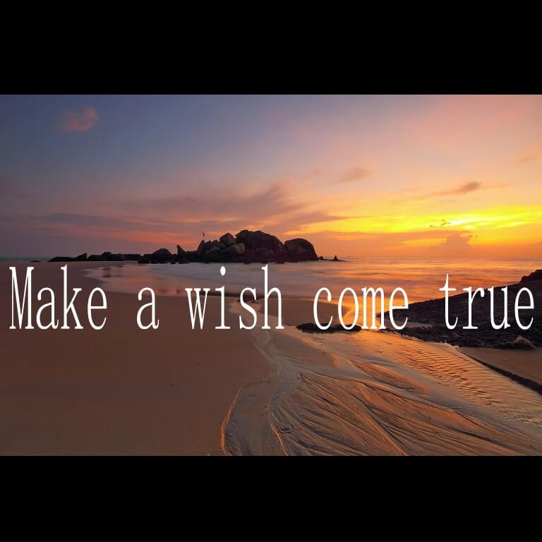 Make a wish come true